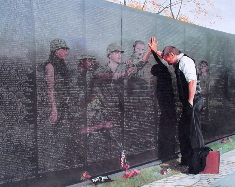 Reflection On The Vietnam War Pictures to pin on Pinterest